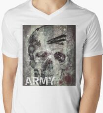 Army Men's V-Neck T-Shirt