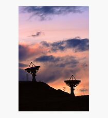 Colorful Sunset Communications Photographic Print