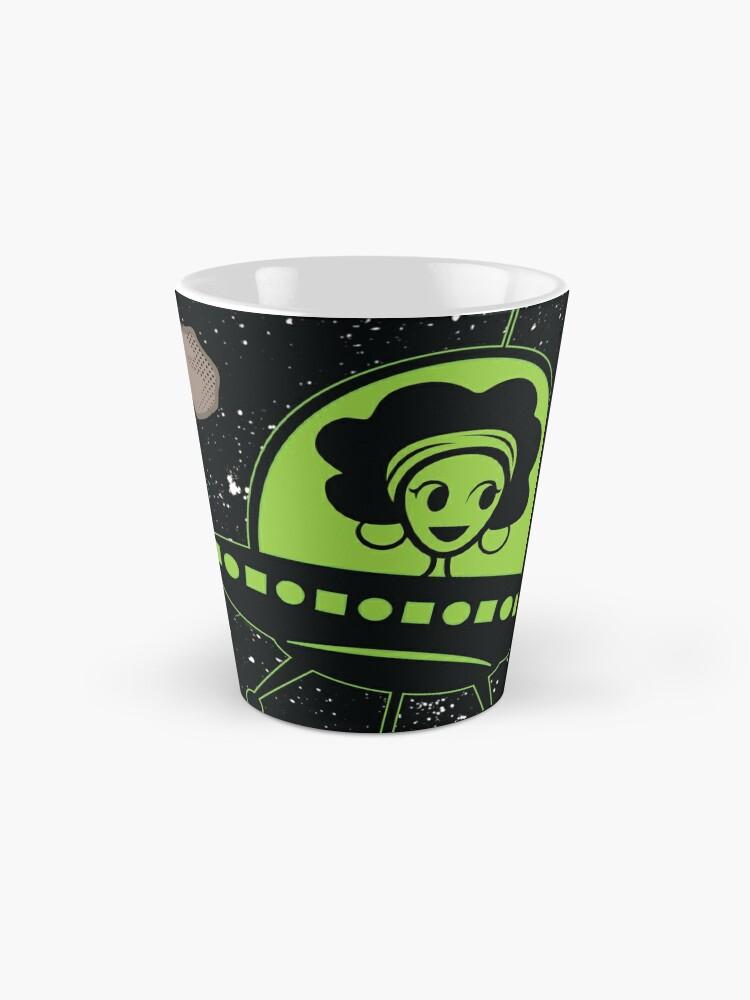 Alternate view of Afro Alien  Mug