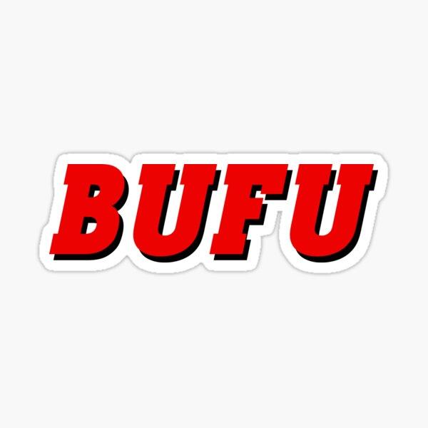 BUFU Sticker