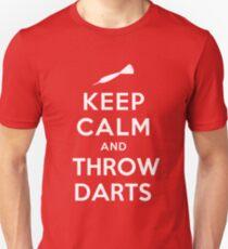 Keep Calm and Throw Darts T-Shirt