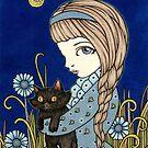 «Un pequeño gatito negro» de Anita Inverarity