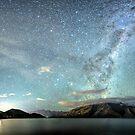 New Zealand Southern Hemisphäre Skies über Lake Wakatipu von OLena Art von OLena  Art ❣️