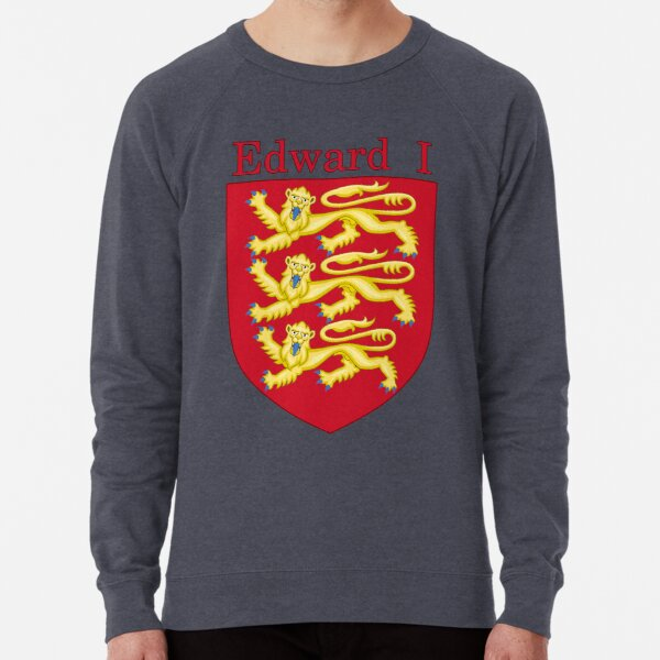 King Edward I Royal Arms | Edward Longshanks Lightweight Sweatshirt
