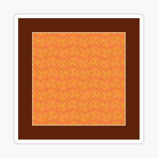 Pattern 047: Undulations IIII Sticker