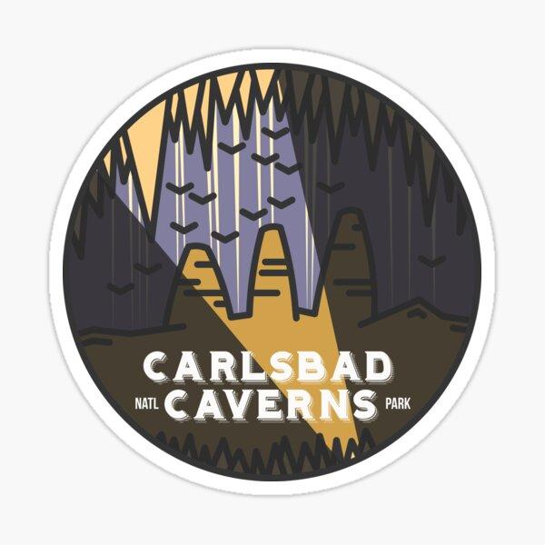 Carlsbad Caverns - Dark Sticker