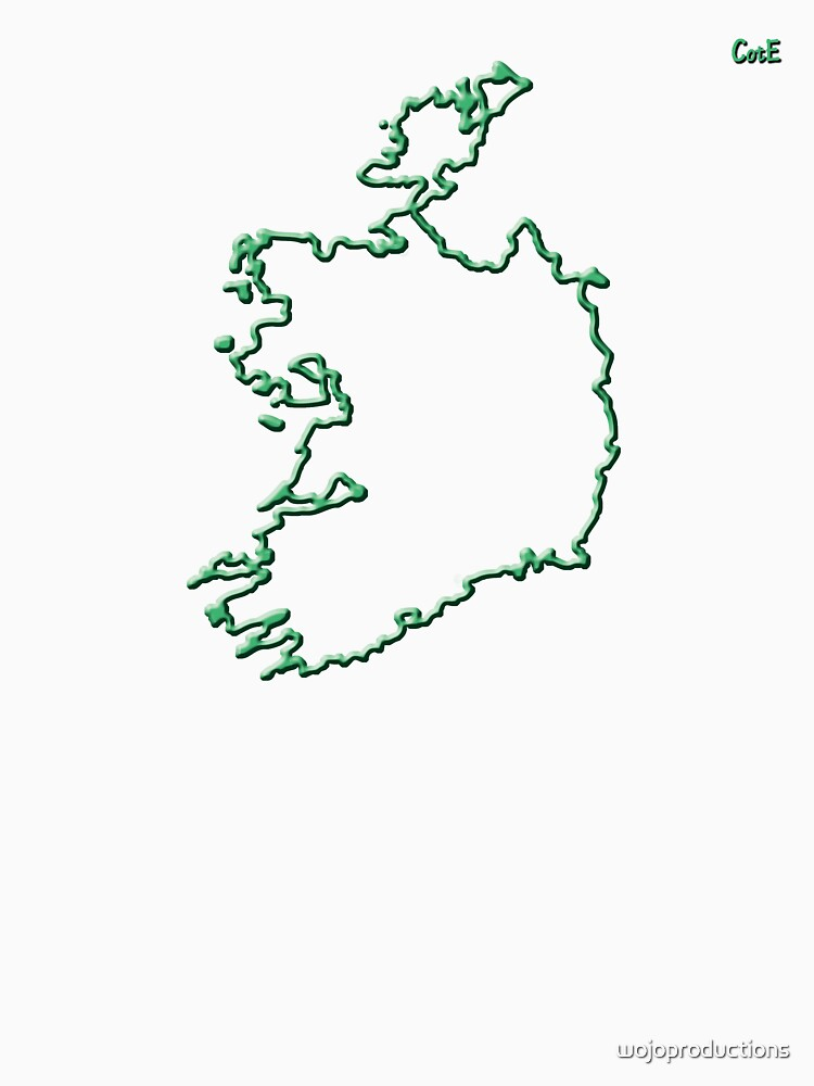 """Ireland """"Citizen of the Earth"""" large by wojoproductions"""