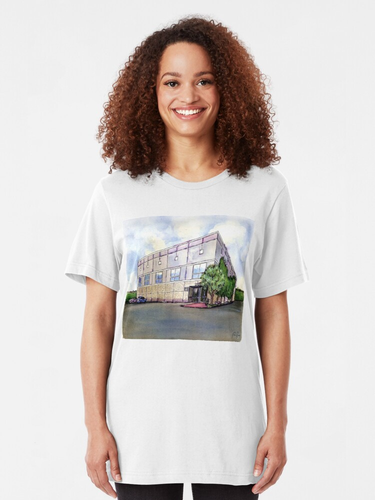 Alternate view of The Office By Pam Beesly(Halpert) Slim Fit T-Shirt