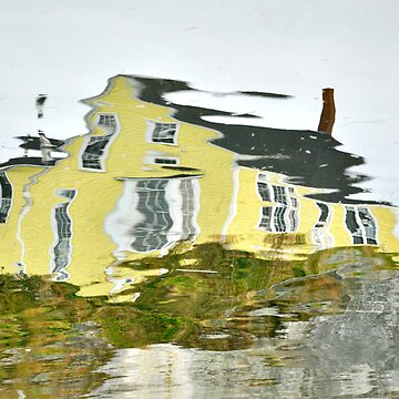 The Yellow House in Nova Scotia by buzzword