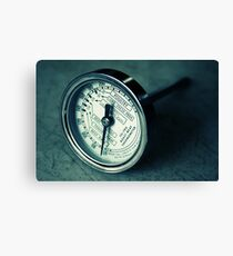Meat Thermometer Canvas Print