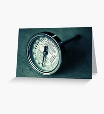 Meat Thermometer Greeting Card