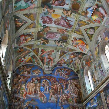 Sistine Chapel, Italy by laurasanders