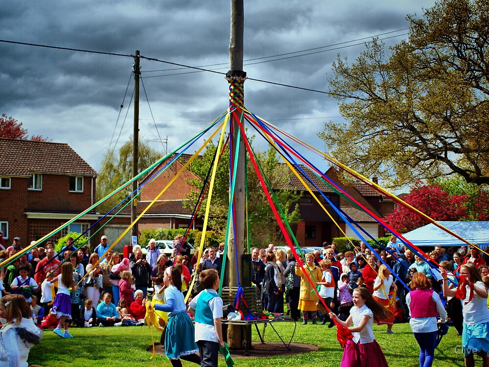 Mayday Maypole Dance by Clive