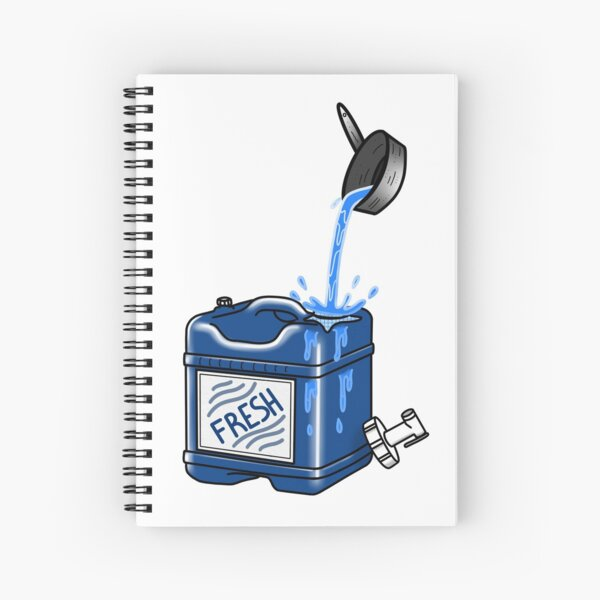 FRESH Spiral Notebook