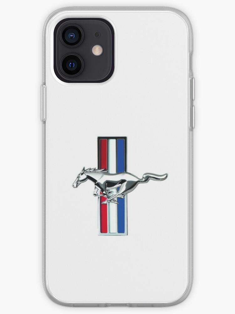 Insigne d'origine Ford Mustang | Emblème classique vintage de Mustang | Coque iPhone