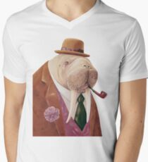 Walrus V-Neck T-Shirt