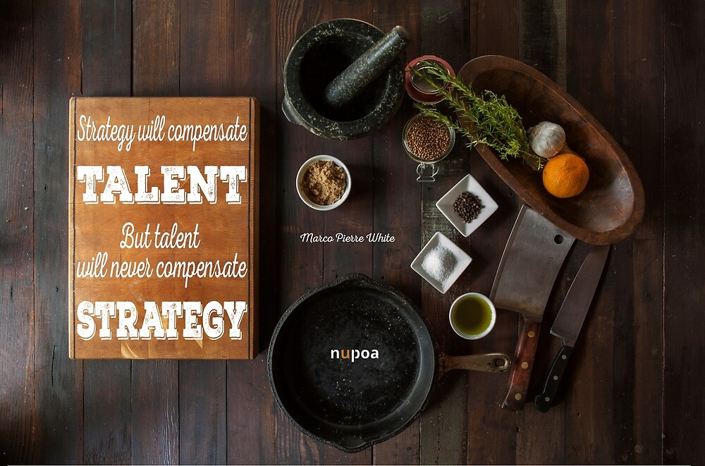 Talent and Strategy by Nupoa