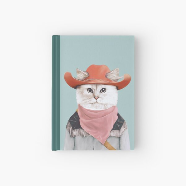 Rodeo Cat Hardcover Journal