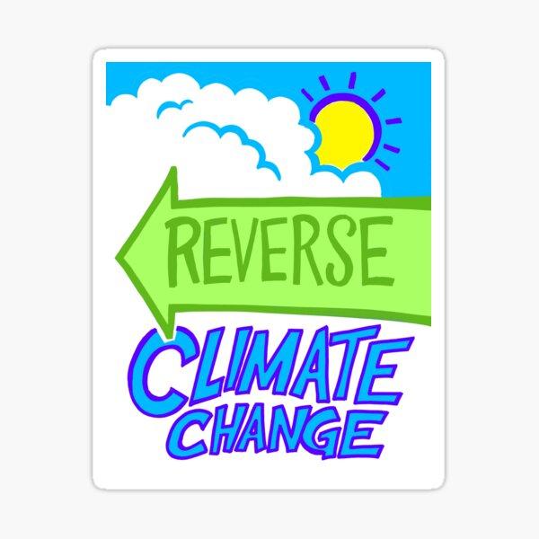 Signs of Progress - Reverse Climate Change Sticker