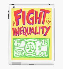 Vinilo o funda para iPad Señales de progreso - Lucha contra la desigualdad