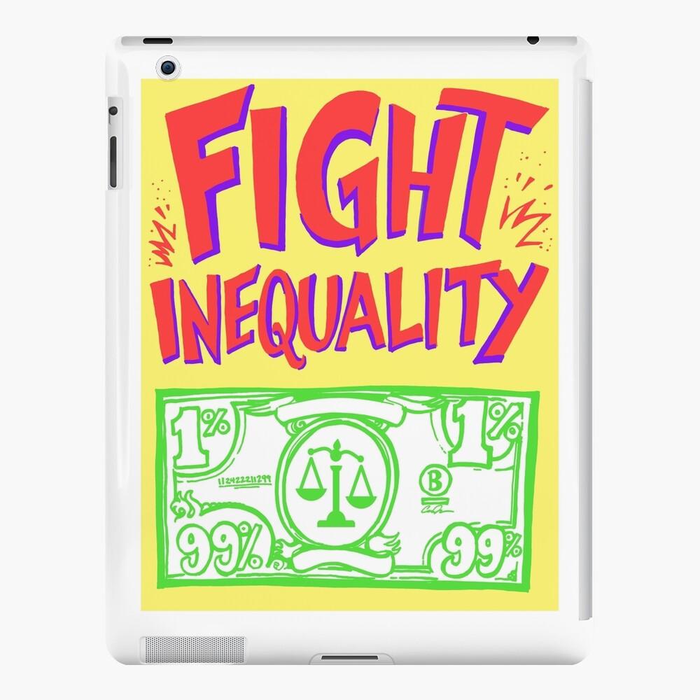 Señales de progreso - Lucha contra la desigualdad Funda y vinilo para iPad