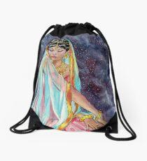 Shahrazade at Night Drawstring Bag