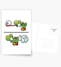 Postales Farting Yoshi