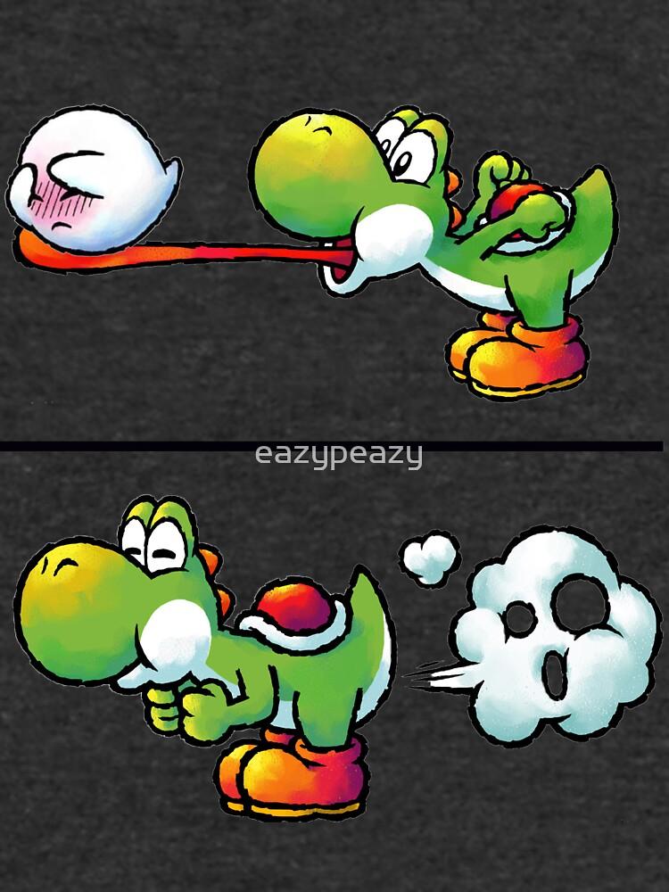 Farting Yoshi by eazypeazy