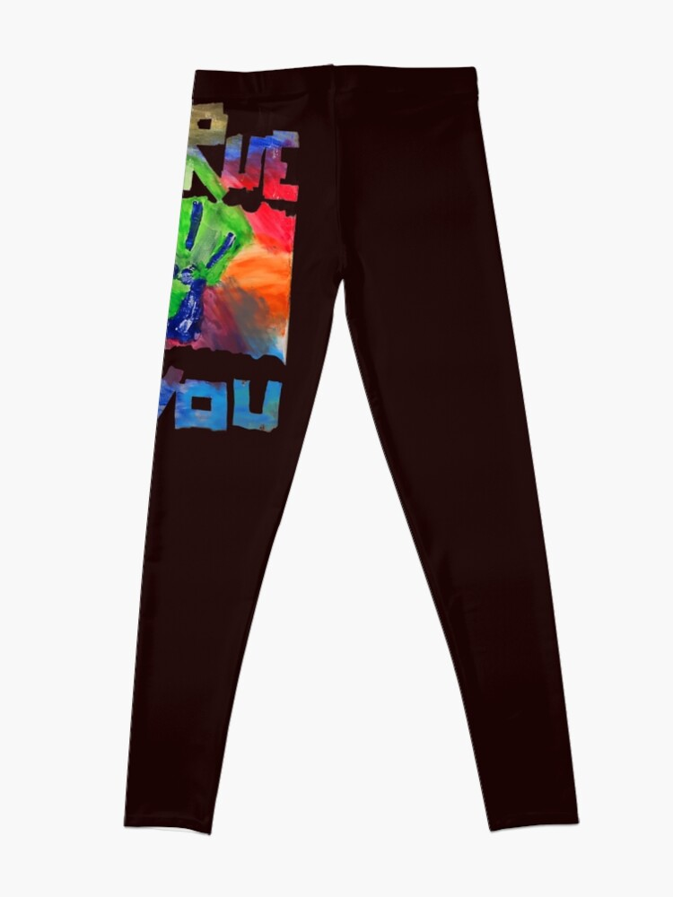 Alternate view of BE TRUE TO YOU Leggings