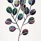 Silberner Dollar Eukalyptus - Deep Cool Palette von Cat Coquillette
