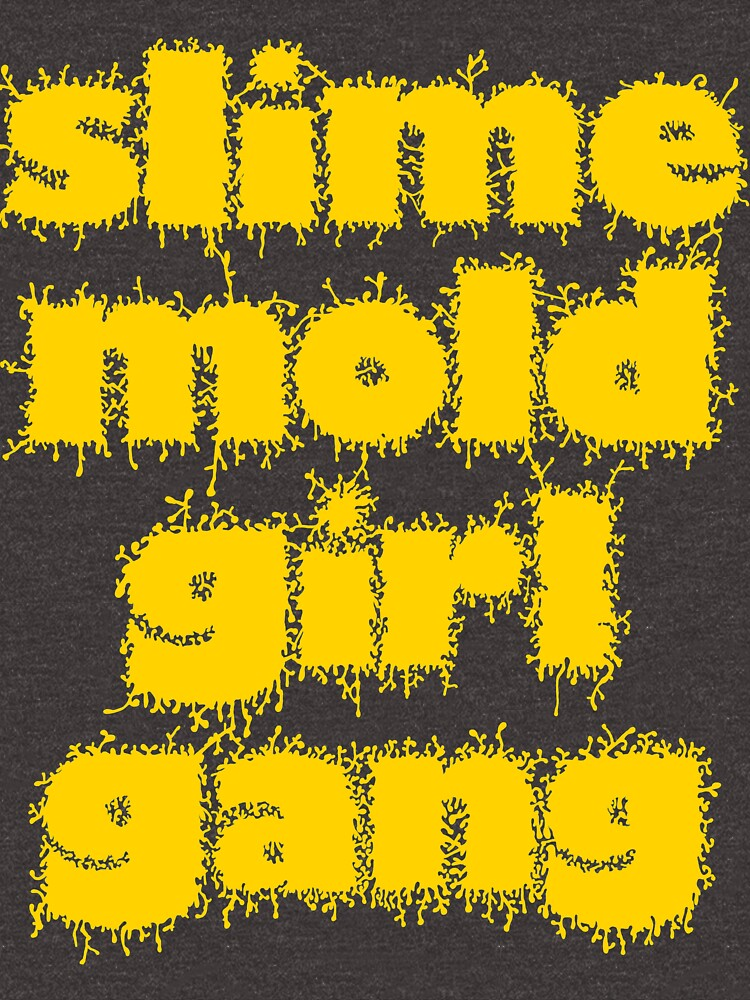 Slime Mold Girl Gang by FungalLove