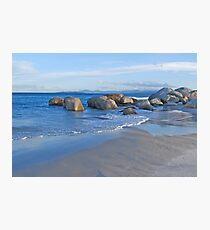 Late Afternoon at Beer Barrel Beach Photographic Print