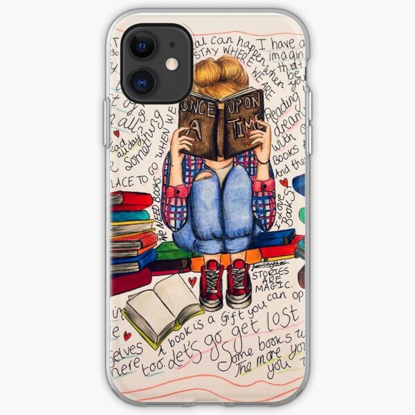 Reading is Dreaming with Open Eyes. iPhone Soft Case