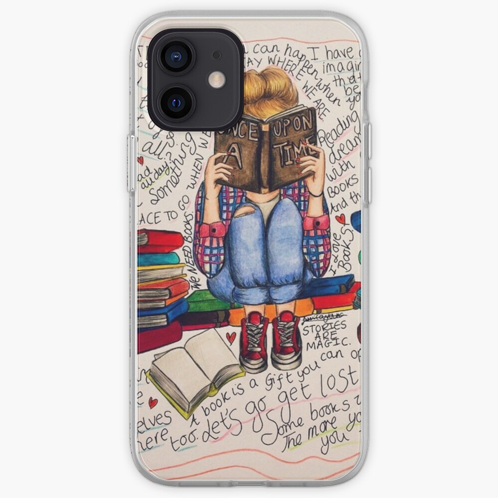 Reading is Dreaming with Open Eyes. iPhone Case & Cover