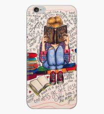 Lesen ist träumen mit offenen Augen. iPhone-Hülle & Cover