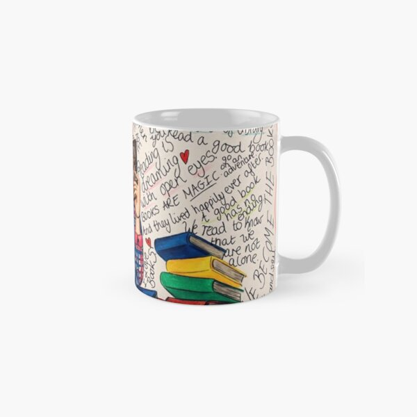 Reading is Dreaming with Open Eyes. Classic Mug