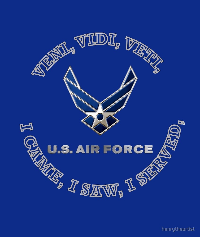 USAF LOGO VVV SHIELD by henrytheartist