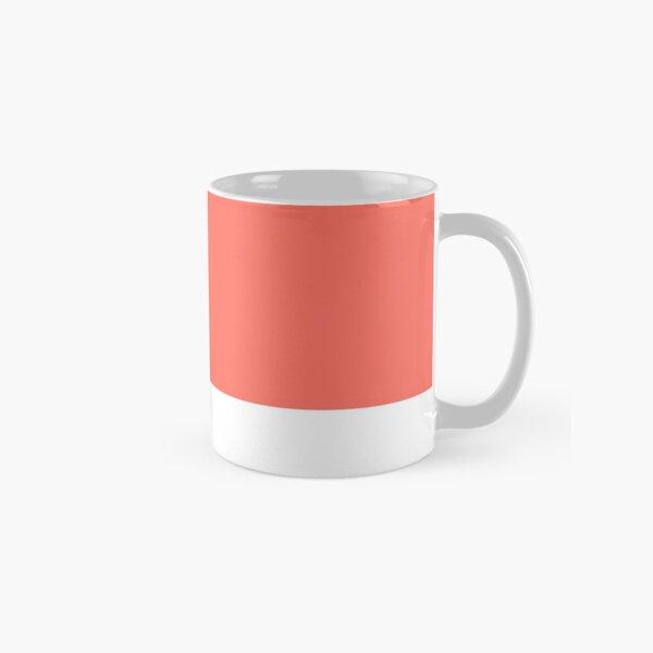 pantone living coral Classic Mug