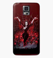 Vampira Spider web gothic Case/Skin for Samsung Galaxy