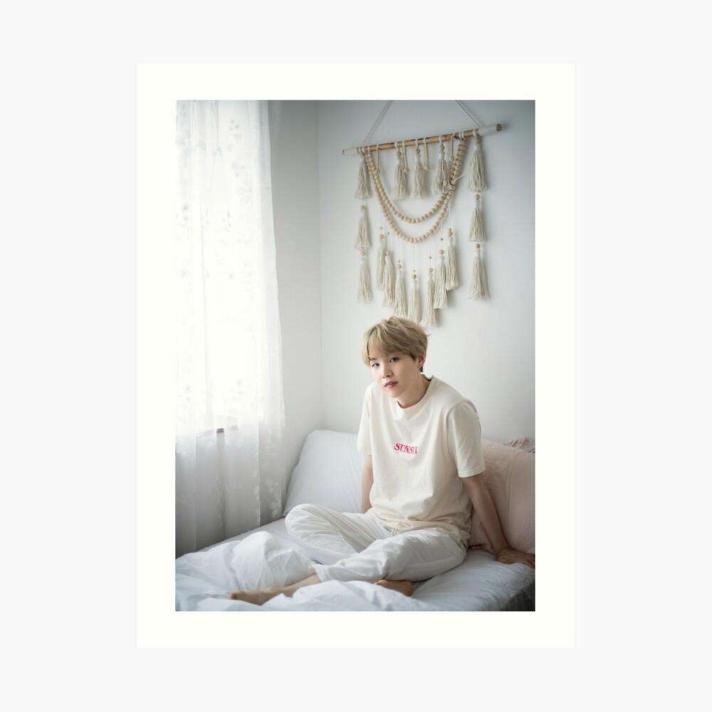 Suga Min Yoongi BTS Retrato 2019 Lámina artística
