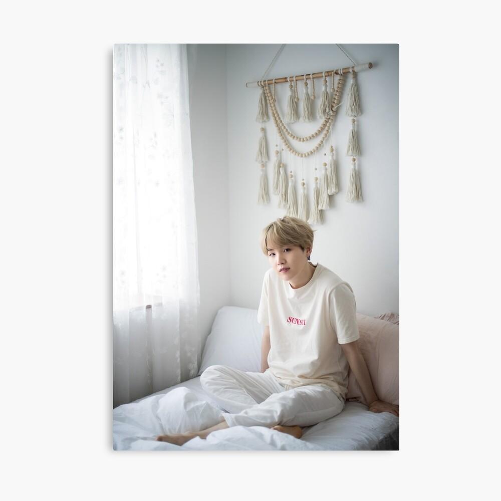 Suga Min Yoongi BTS Retrato 2019 Lienzo