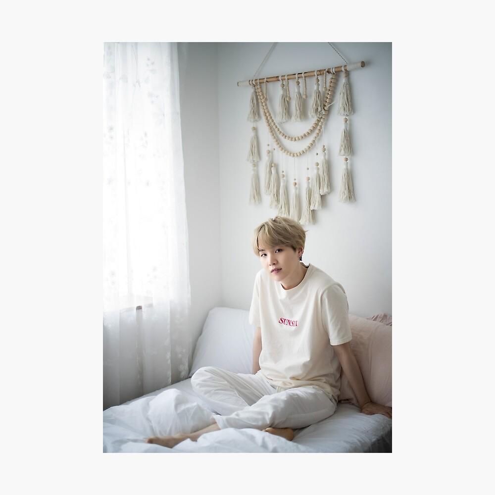 Suga Min Yoongi BTS Retrato 2019 Lámina fotográfica