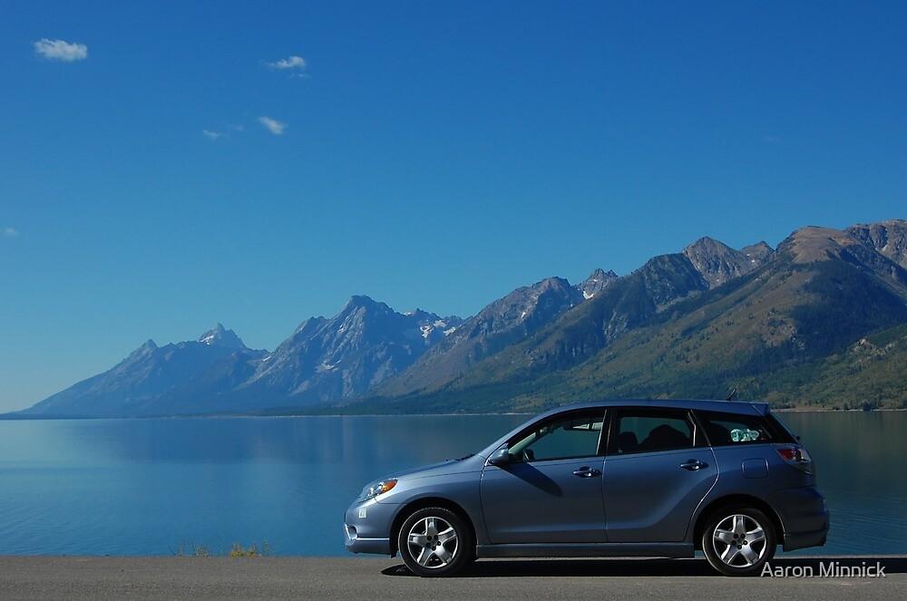 Toyota Matrix - Grand Teton NP by Aaron Minnick