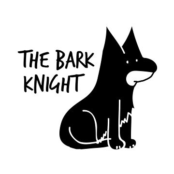 The Bark Knight by Burgernator