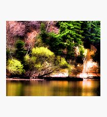 Reflections Off the Lake Photographic Print