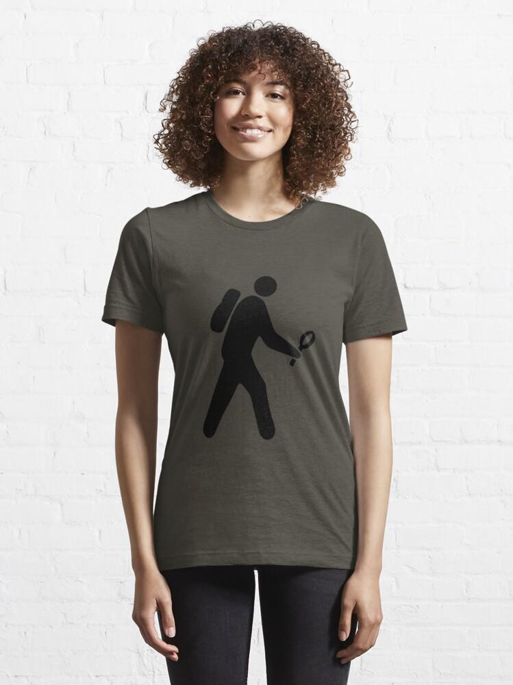 Alternate view of Lookie-Loo the Micro-Hiker Essential T-Shirt