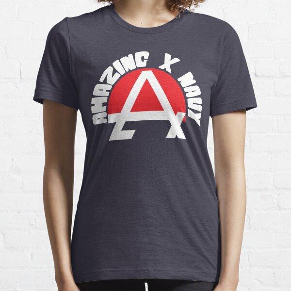 Amazing X Navy T-shirt essentiel