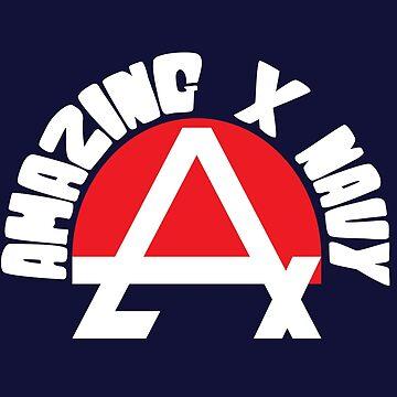 Amazing X Navy by oSYZYGYo