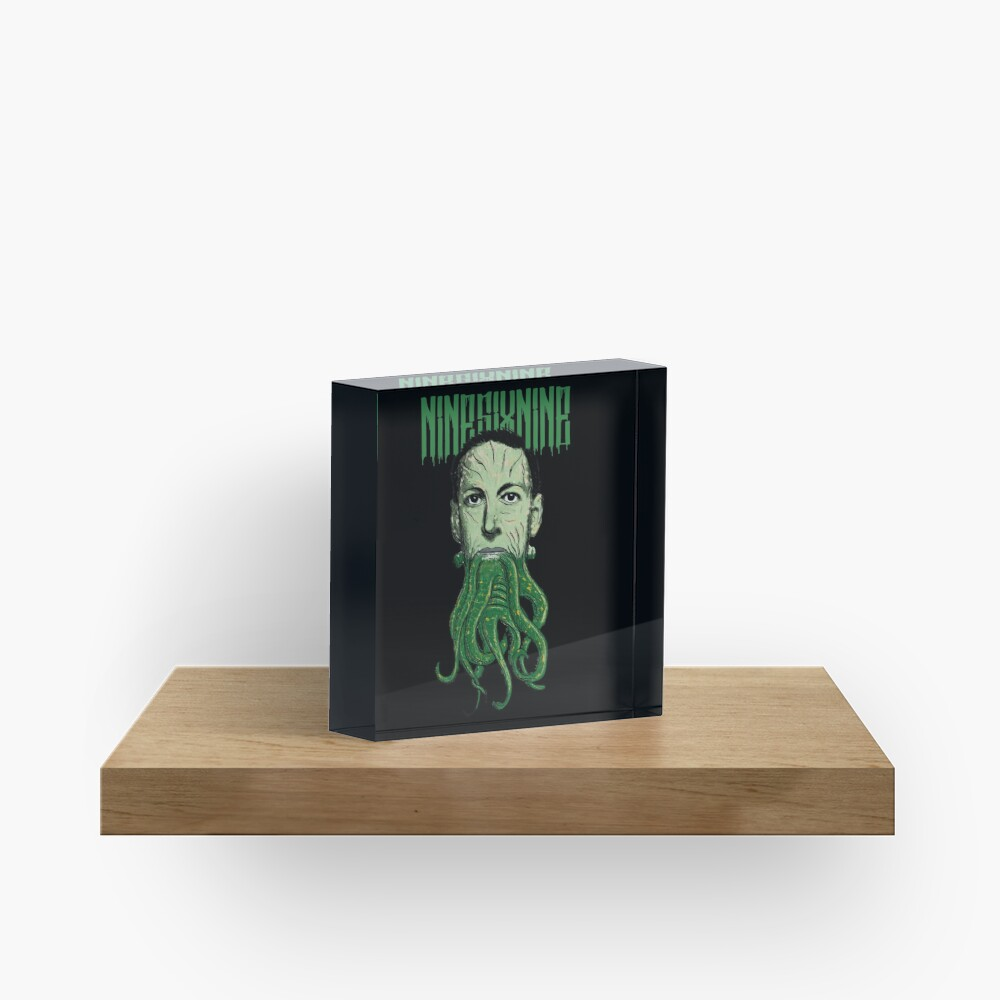 HP Lovecraft Cthulhu Acrylic Block