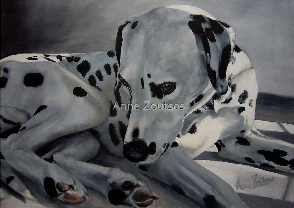 Dream A Little Dream Of Me  by Anne Zoutsos